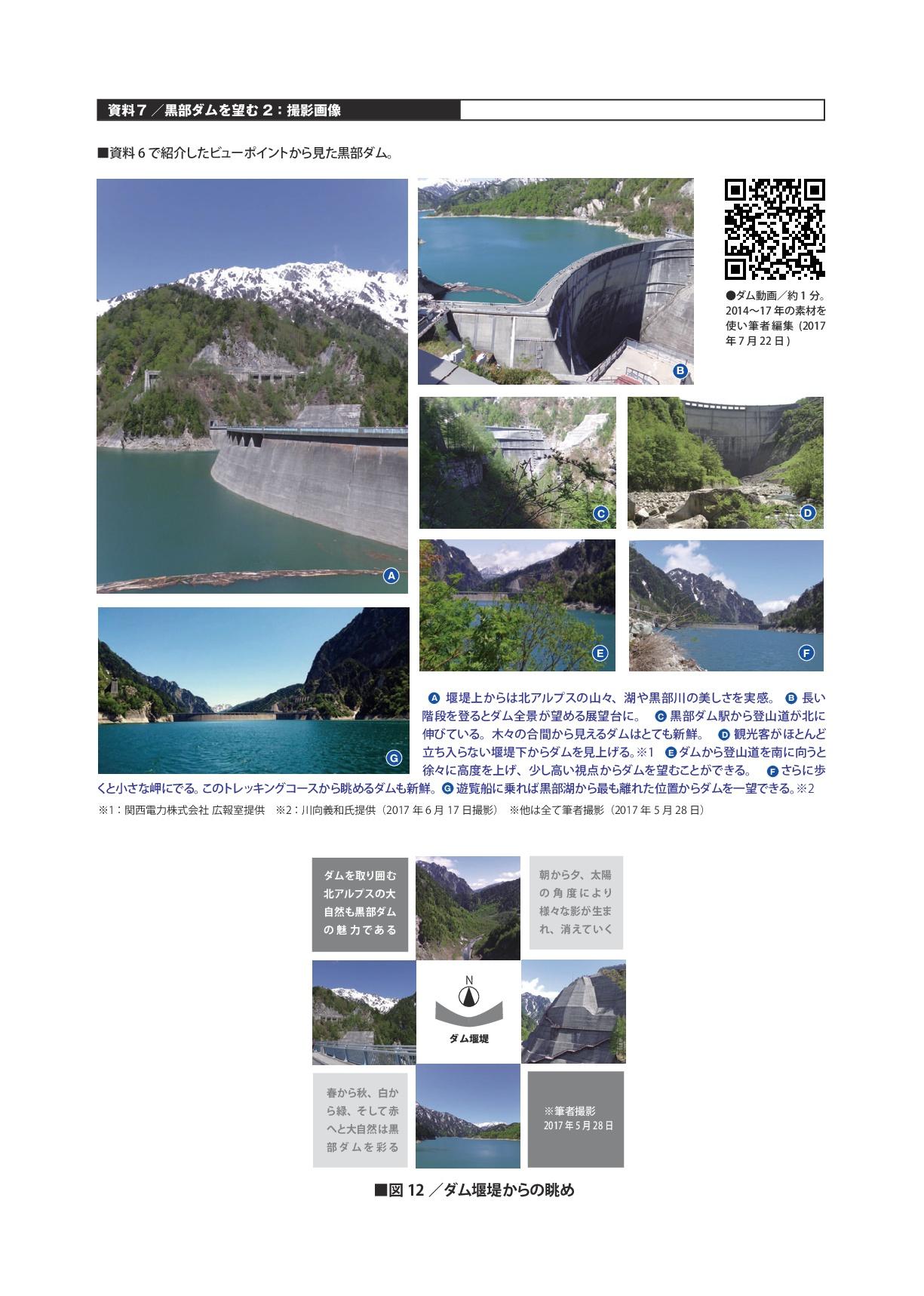 資料7/黒部ダムを望む2:撮影画像