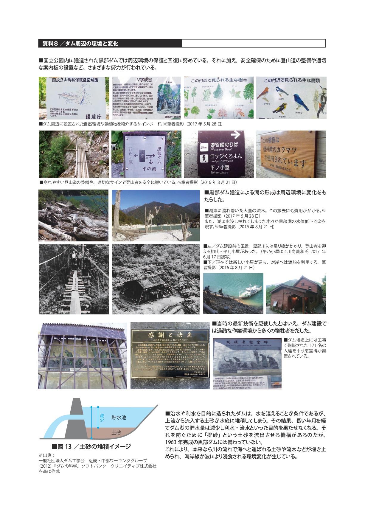資料8/ダム周辺の環境と変化